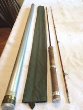 Vintage 1951 Orvis Battenkill Bamboo Spinning Rod 7' Serial #11805 2 pc.