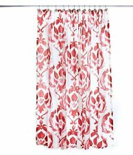 Noble Excellence Medallion Shower Curtain Color Coral Brand New In Package
