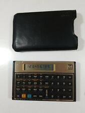 Vintage Hp 12C Financial Calculator with Original Hp Cover