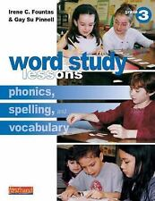 Word Study Lessons: Phonics, Spelling, and Vocabulary Grade 3, Pinnell, Gay Su,