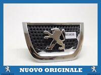 Coat of Arms Front Bumper Logo Emblem Original For PEUGEOT 3008