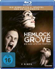 HEMLOCK GROVE - SEASON 3- Blu Ray Region B/UK - Bill Skarsgard