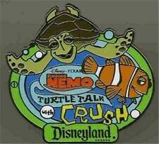 NEMO & CRUSH #3 TURTLE TALK Finding Nemo AAA Vacations GWP DISNEY PIN