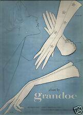 50's Grandoe Glove Ad  1957