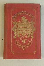 Mémoires d'un âne, Comtesse de Ségur, Bibliothèque Rose, Castelli et Pannemaker