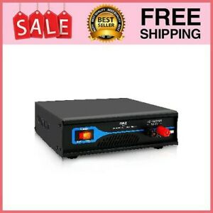 Universal Compact Bench Power Supply - 30 Amp Regulated Home Lab Benchtop w/ DC