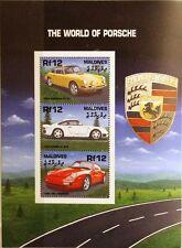 MALDIVES MALEDIVEN 2000 Klb 3670-72 Porsche Automobile Autos Sports Cars MNH