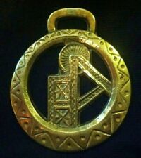 Oversize Mining Rig Uk Tin Mining Horse Harness Brass Rare Brass Wow Your Walls!