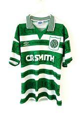 Celtic Home Shirt 1995. Medium. Umbro. Green Adults Original Football Top Only.