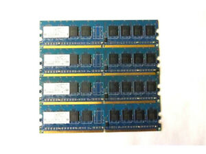 NANYA 4X PC2-4200U-444-12-A1 NT512T64U88A0BY-37B 512MB 1Rx8 533MHz 240-PIN