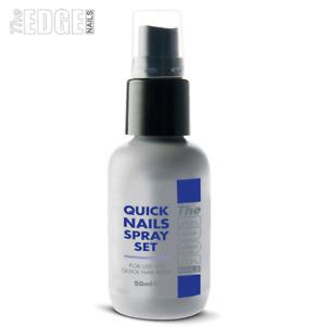Edge Quick Nails Activator Spray Set 50ml  Sets Resin For False Nails
