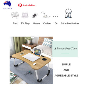 Laptop Desk Bed Table Tray, Lap Desk Bed Table , Notebook Table with Tablet Slot