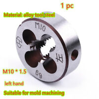 M10*1.5mm Metric Left Hand Screw Thread Die Threading Tool Hand Tapping Tool