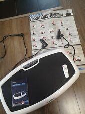 Skandika Fitness Plate 600 Vibrationsplatte Joe Kelly Edition top Zustand