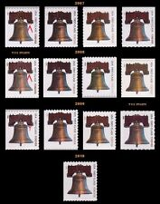 4125-28 4437+ All 13 Forever Liberty Bell Stamps 2007 2008 2009 2010 - Buy Now