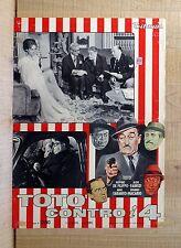 TOTò CONTRO I 4 fotobusta poster Peppino De Filippo Aldo Fabrizi Macario N32
