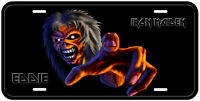 Iron Maiden Aluminum Car License Plate A43