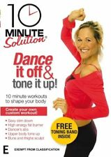10 Minute Solution - Dance It Off And Tone It Up! (DVD, 2008)