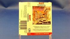 RIOT - Thundersteel - EXCELLENT CONDITION - SCARCE 1988 CASSETTE - Canada