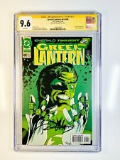 Green Lantern 49 CGC 9.6 Signed  by Ron Marz Kyle Rayner Emerald Twilight Pt 2