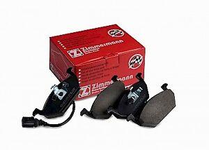 Zimmermann Brake Pad Front Set 23130.195.1 fits Volkswagen Golf 1.6 Mk4 (74kw...