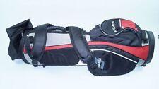 *NEU*Strata Golftasche bag rot schwarz silber Tasche Golf black tour golfing new