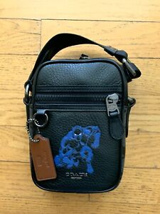 Coach Marvel Black Panther Terrain Crossbody Bag Authentic New with Tags