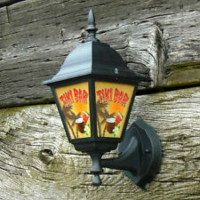 Tiki Bar Lantern, Home Bar Light, Tiki Bar Sign, Outdoor Garden Light, Pub Lamp