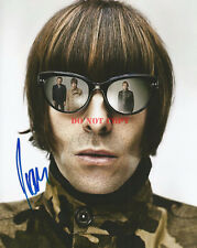 LIAM GALLAGHER OASIS BEADY EYE SIGNED 8x10 PHOTO AUTOGRAPHED RP