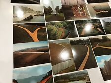 CHRISTO Fence Curtain Gates Art Postcards SIGNED 1980