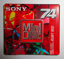 Sony Mini Disc - 74 Minute Blank Recordable     MDW-74AR         [New - Sealed]