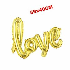 Foil Aluminum Helium Balloon Anniversary Wedding Valentines Day Propose Happy.