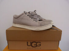 UGG flat casual leather shoes sz 4 UK , IN ORIGINAL BOX