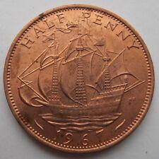 1967 Uncirculated medio centavo