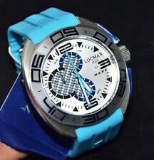 Locman Shark Men's Watch Chronograph Titanium and Carbon Fiber List