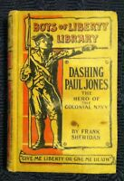 🔥VINTAGE🔥 1895 *Dashing Paul Jones* Hard Cover Book by Sheridan Colonial Navy