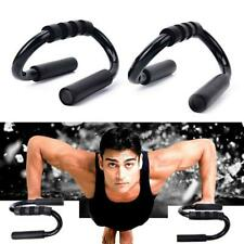 2Pcs Push-Up Bars Press-up Stands with Foam Handles Arm Chest Exercise Fitn O3R2