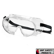 PYRAMEX G204T LAB SAFETY GOGGLES VENTED CHEMICAL/SPLASH/IMPACT RESISTANT (1 PR)