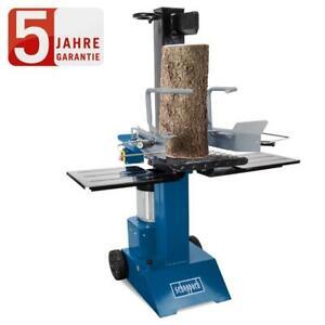 Scheppach Holzspalter HL815, 8t, 230V, stehend, Spaltgutablagen + Spaltgutfänger