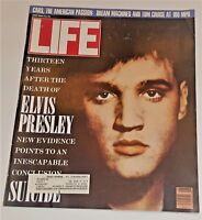 June, 1990 LIFE Magazine ELVIS PRESSLEY Celebs advertising ads FREE SHIPPING 6