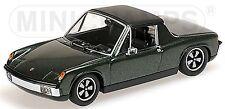 Porsche 914/6 Targa 1969-76 verde verde metálico 1:43 Minichamps