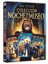NOCHE EN EL MUSEO DVD COLECCION TRILOGIA PACK DE 3 PELICULAS NUEVO ( SIN ABRIR )