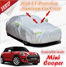 Premium Waterproof Rain UV Protection Aluminum Zip Car Cover MINI COOPER HATCH