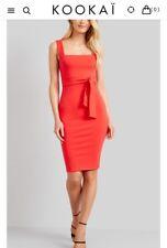 ladies red kookai dress size 2 worn once rrp$70