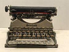 1910 Aluminum Standard Folding Typewriter