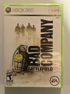 Battlefield: Bad Company (Microsoft Xbox 360, 2008) Complete and Tested