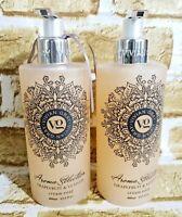 Lot of 2 Vivian Gray Grapefruit & Vetiver Cream Hand Soap 13.5 oz,  Germany Made