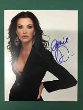 JANICE DICKINSON SUPER MODEL AUTOGRAPHED PHOTO SIGNED 8X10 #6
