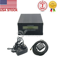 GPSDO GPS Colck 10M LCD Frequency Message Disciplined Oscillator US Ship
