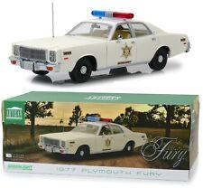 1:18 Greenlight *DUKES OF HAZZARD COUNTY SHERIFF* Roscoe's 1977 Plymouth *NIB*